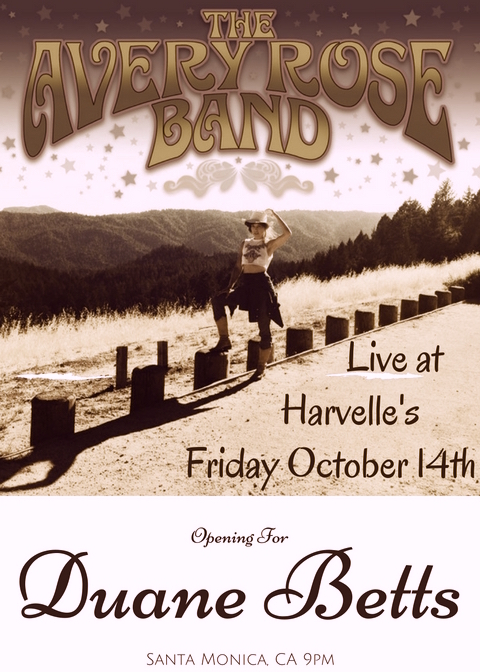 Live at Harvelle's with Duane Betts